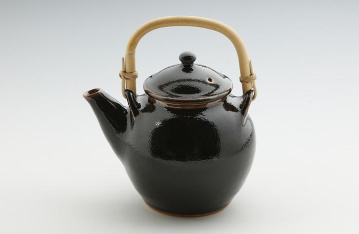 丸紋土瓶・番茶碗3