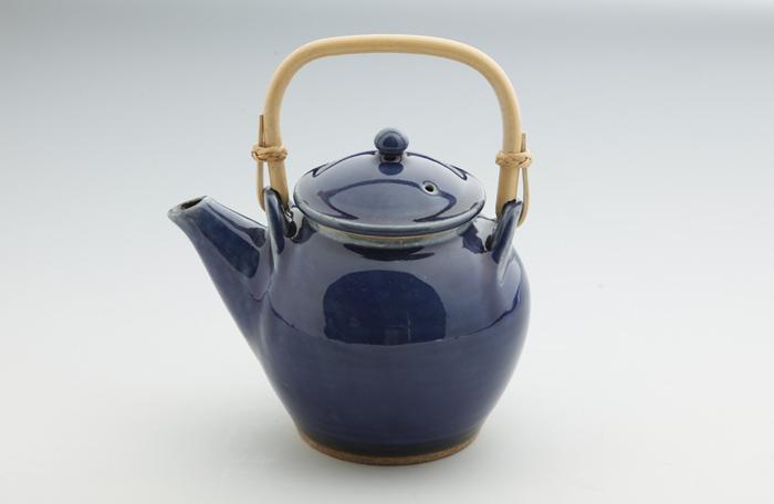 丸紋土瓶・番茶碗4