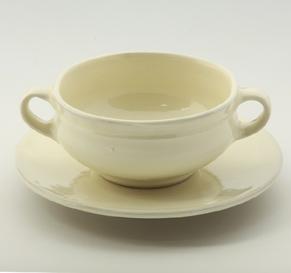 両手スープ碗・皿