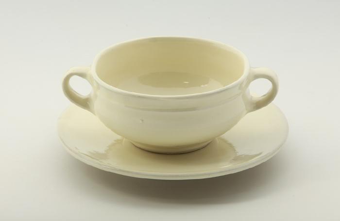 両手スープ碗・皿1